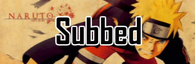 Naruto Shippuden English Subbed Episodes Watch Online